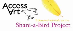 share a bird logo